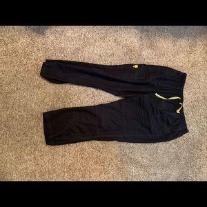Black Scrub pants